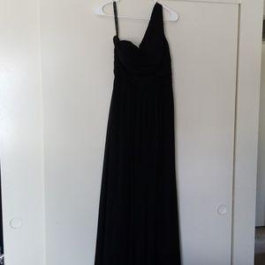 Women's bridesmaids dress black size 8